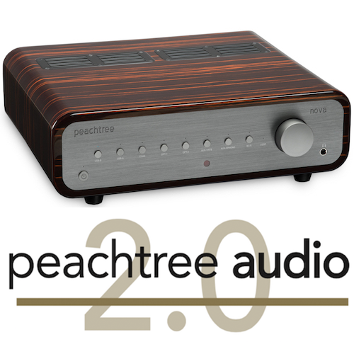 Peachtree Audio Nova 300 Gloss Ebony Mocha