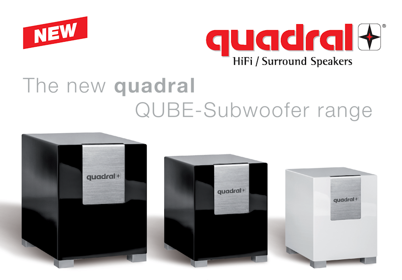 quadral qube 10 subwoofer. Black Bedroom Furniture Sets. Home Design Ideas