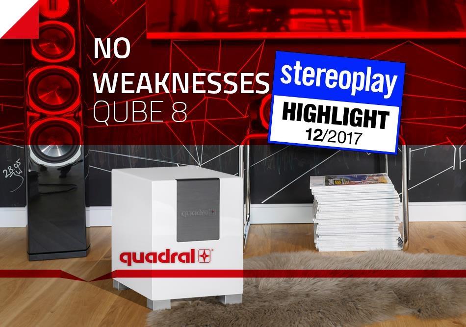 quadral qube 8 subwoofer. Black Bedroom Furniture Sets. Home Design Ideas